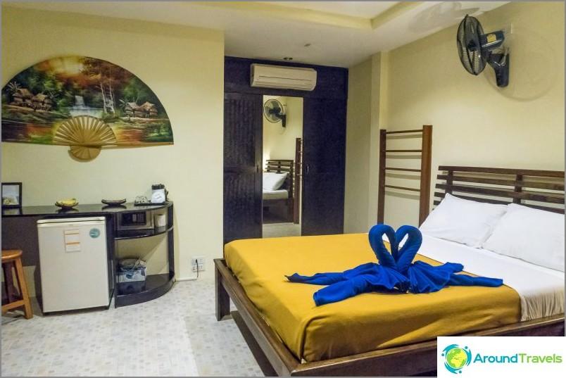 Hotellihuoneeni Phanganissa