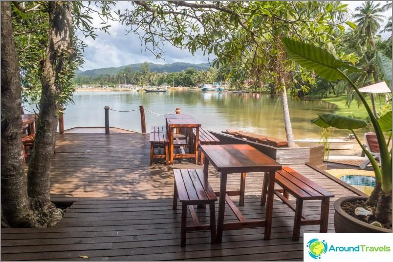 Cyana Beach Resort - hyvä hotelli Phanganissa