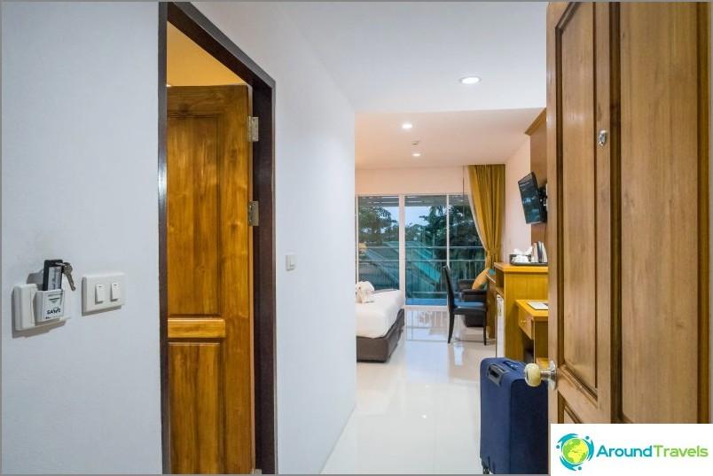 Ma chambre au Lamai Coconut Beach Resort