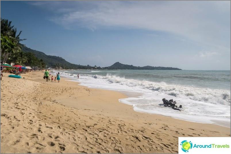 Lamai Beach, l'une des meilleures de l'île