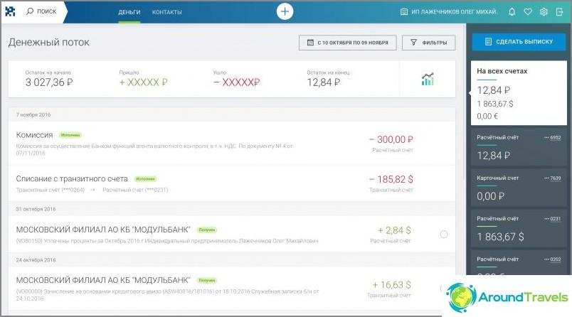 Miltä Internet-pankkitoiminta näyttää Modulbankilta