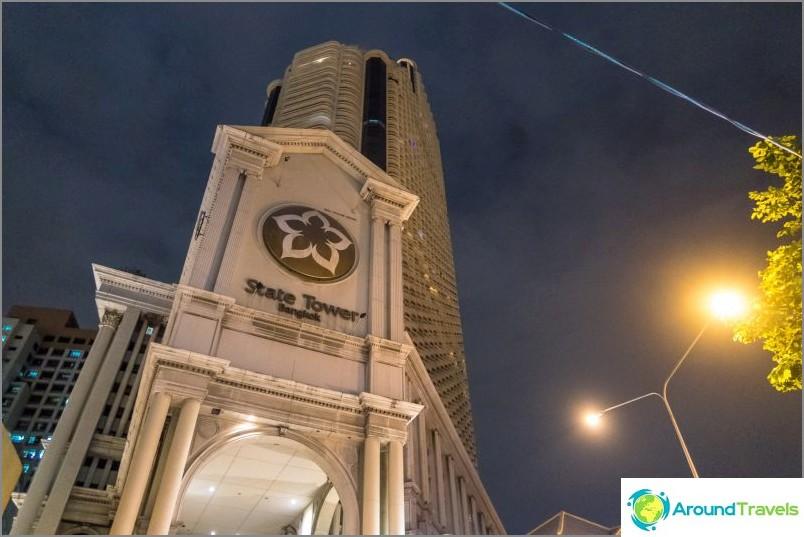 Tässä se on, Lebua State Towerissa