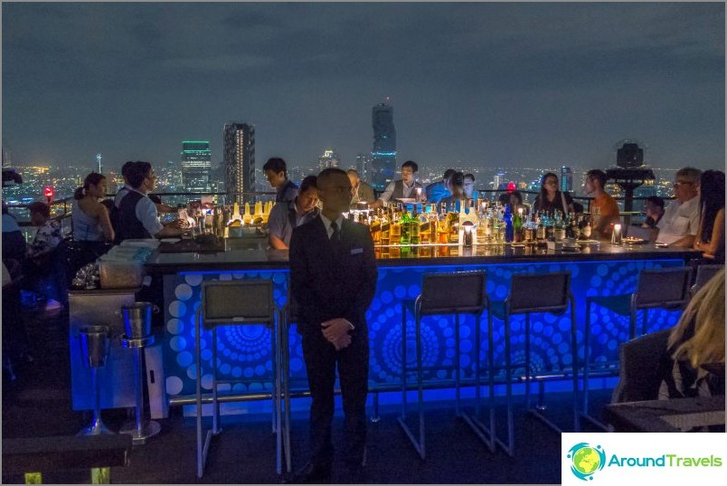 Banyan Tree Bangkok Rooftop Bar & Restaurant Vertigo - kerros 61