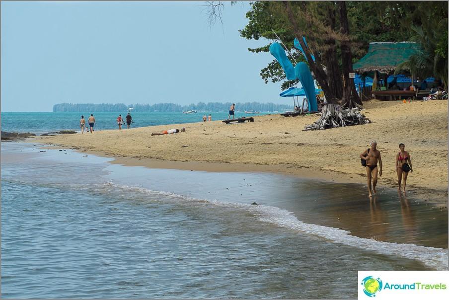 Много ми харесаха плажовете в Хао Лак