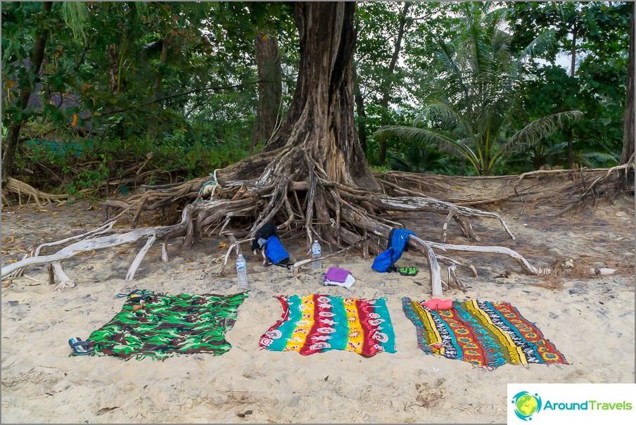 Просто плаж Нанг Тонг
