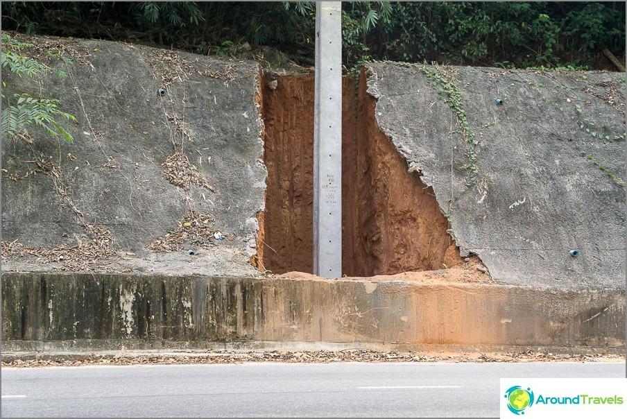 Сега знам какво крие бетон по склоновете