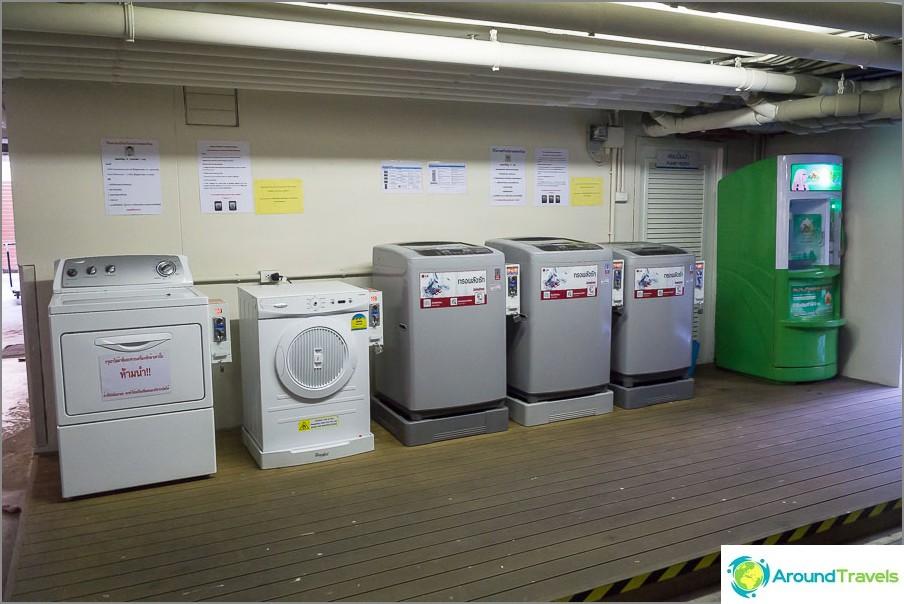 Pesukoneet niille, joilla ei ole pesukonetta ja vettä