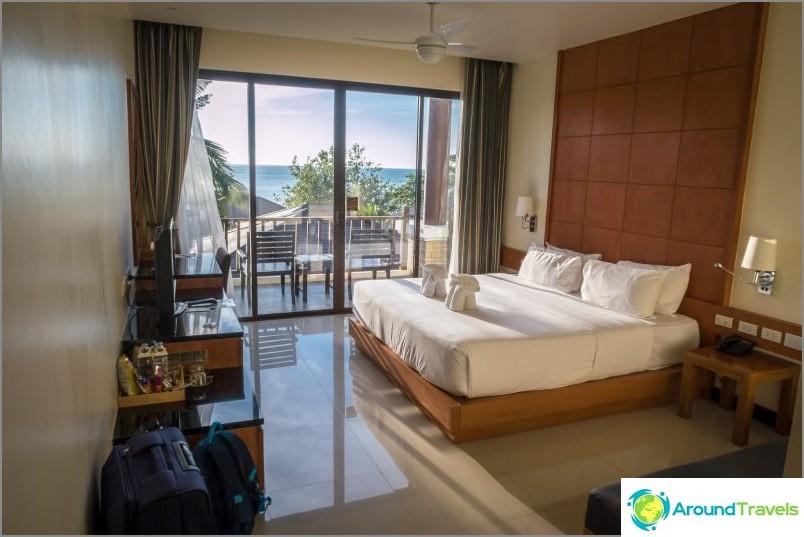 Kacha Resort ja Deluxe-rakennushuone