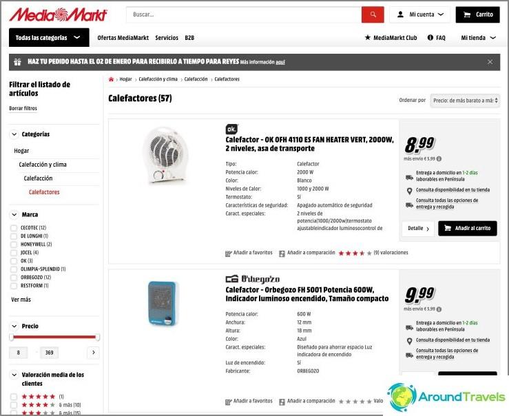 Hinta MediaMarktissa alkaa 14 eurosta toimituksella