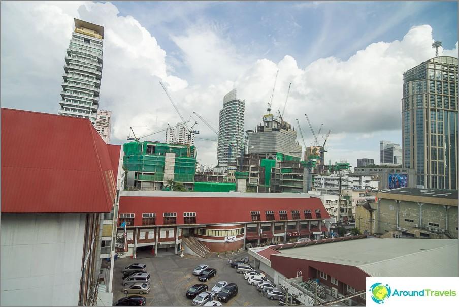 Bangkokin ikkunanäkymä