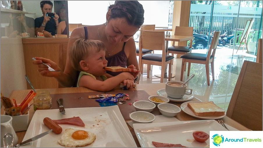 Huono aamiainen