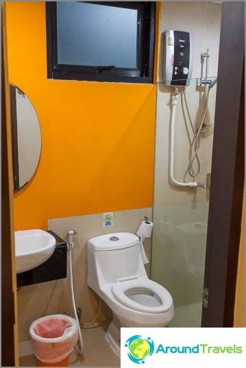 Tyypillinen kylpyhuone
