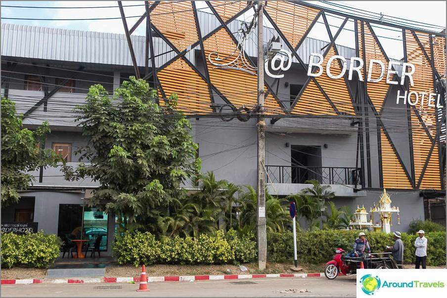 Border Hotel Granzia Thaimaassa ja Kambodžassa