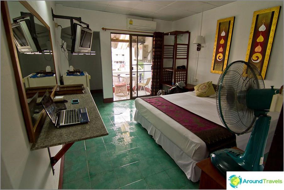 Бюджетна къща за гости в Чианг Май за 480 бата