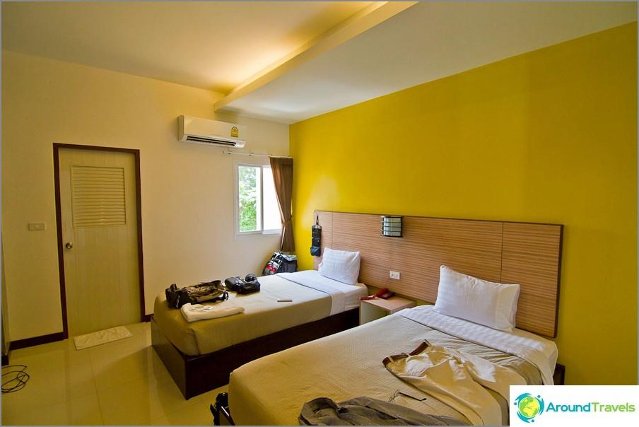 Erittäin mukavat huoneet tässä hotellissa.