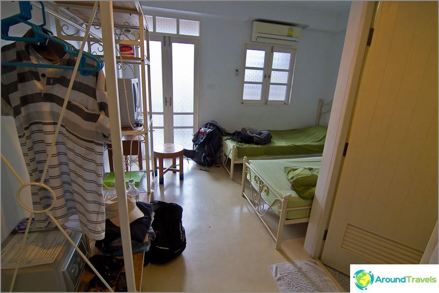 Kahden hengen huone Roof View Palacessa
