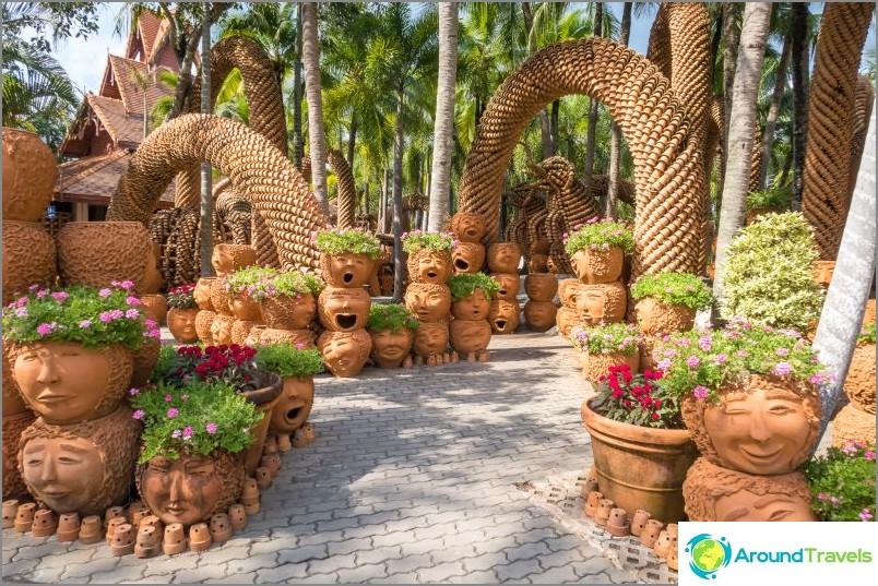 Nong Noochin trooppinen puutarha