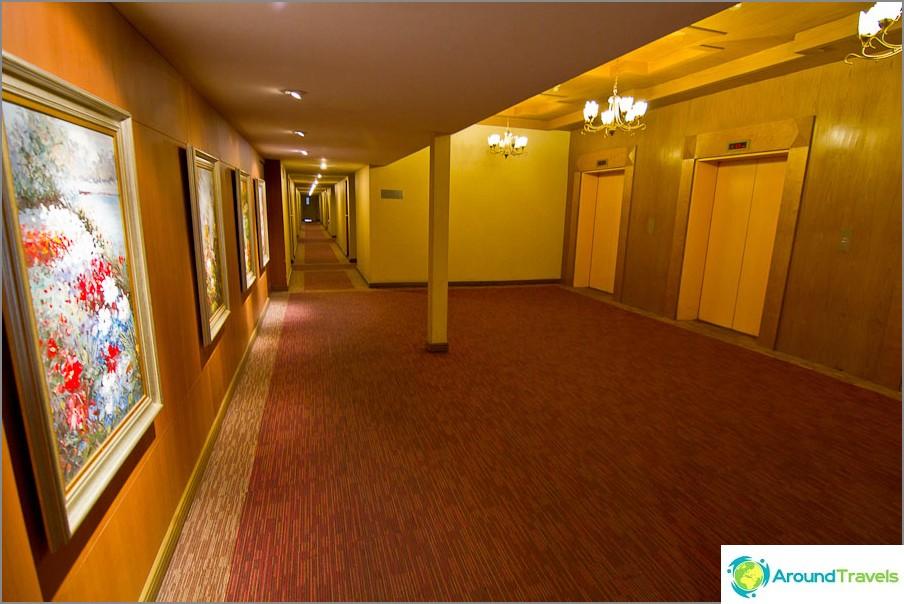 Tyypillinen hotelli kuten tämä, ei koskaan majatalo