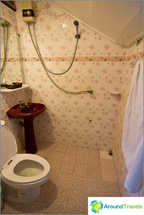 Типична баня с топла вода