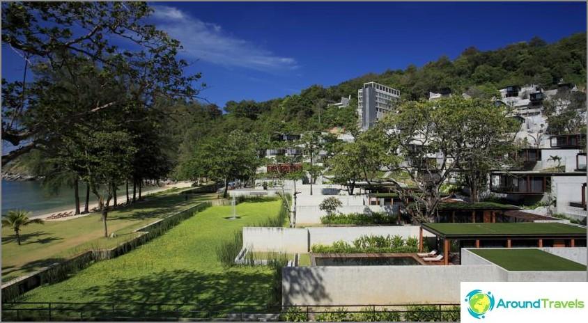 Parhaiten arvioidut kohteen Phuket hotellit, joissa on yksityinen ranta