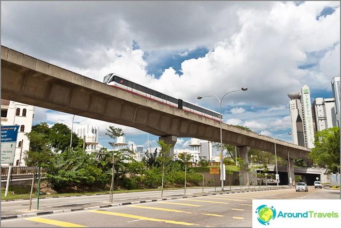 Влак LRT, лек метро в Куала Лумпур