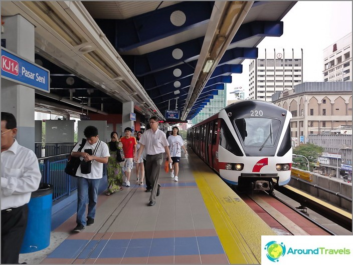 Гара LRT в метрото Куала Лумпур