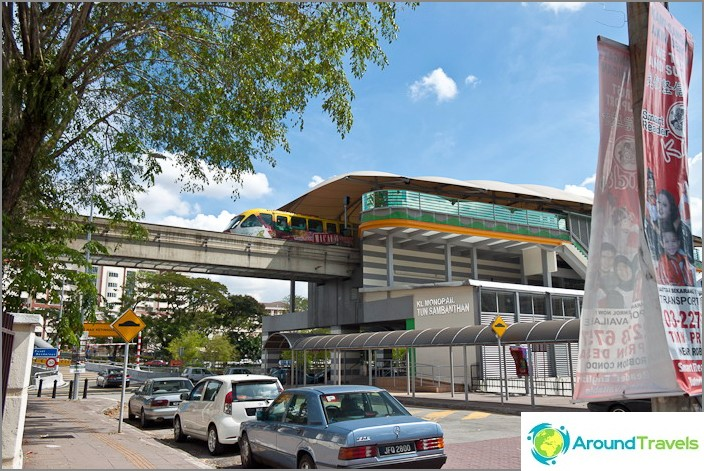 Метро Куала Лумпур, влак KL Monorail