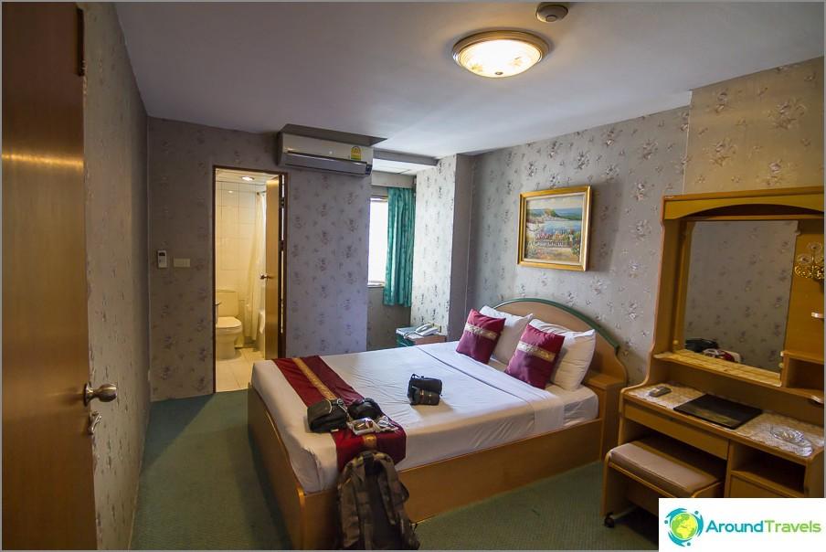 Mukava hotelli Bangkokissa Nasa Vegasin kauttakulkua varten