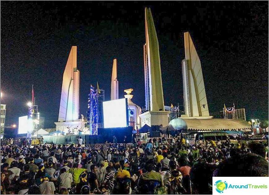Piattaforma principale - Monumento della democrazia