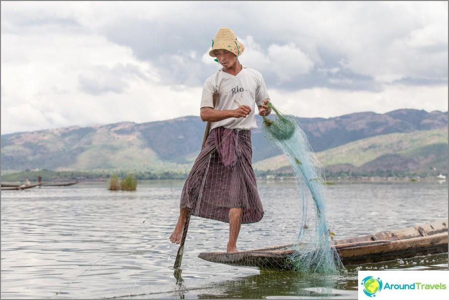 Inle-järvi Manyamassa (Burma)