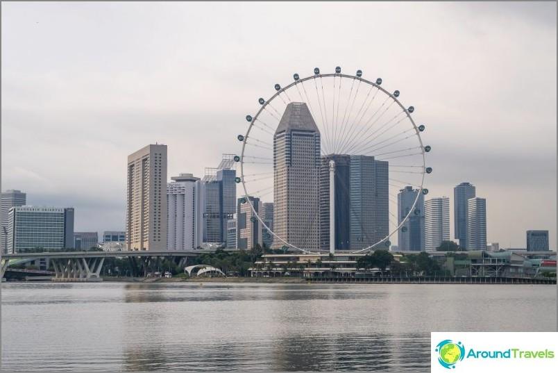 Maailmanpyörä Singaporessa