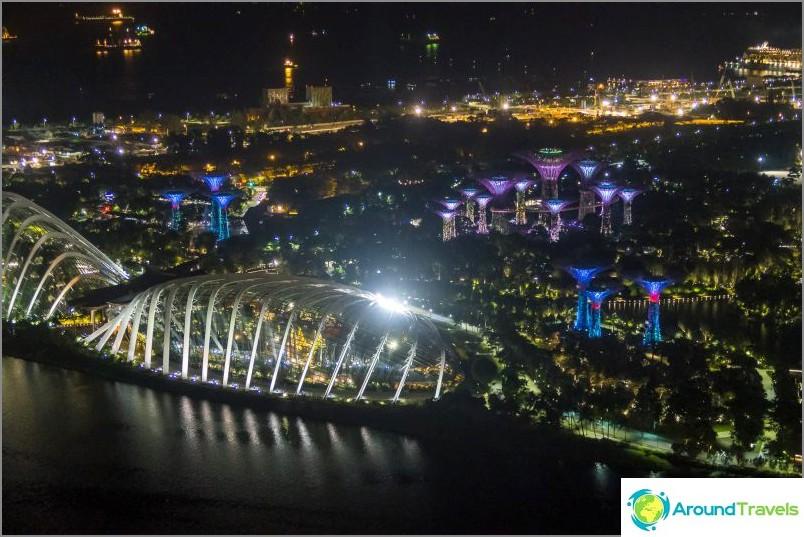 Singaporen maailmanpyörä - 30 minuuttia kaupungin yläpuolella