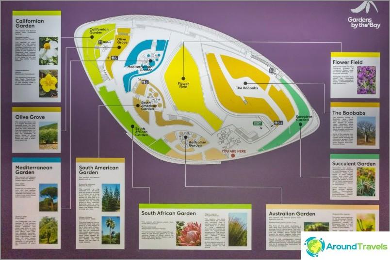 Puutarha Bay Garden -suunnitelman mukaan
