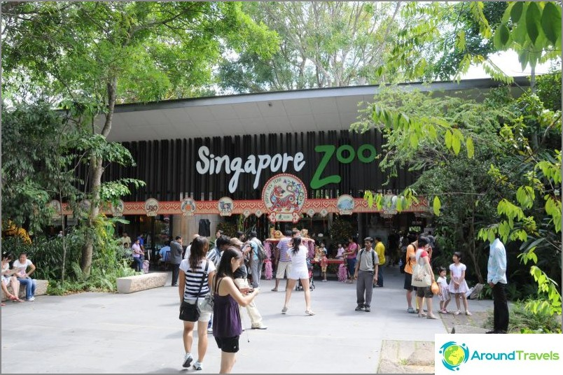 Eläintarha Singaporessa Mandai