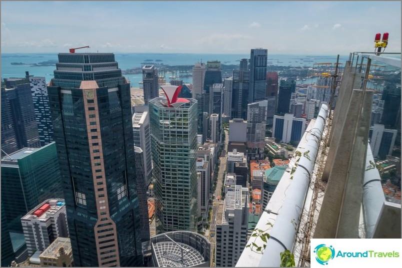 Singaporen paras näköalapaikka - 1-korkeuden kattopalkki