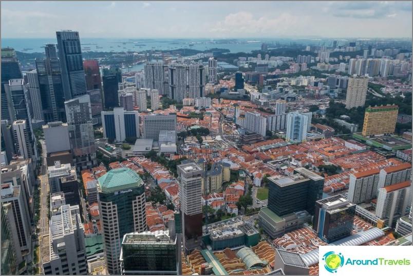 Singaporen keskusta