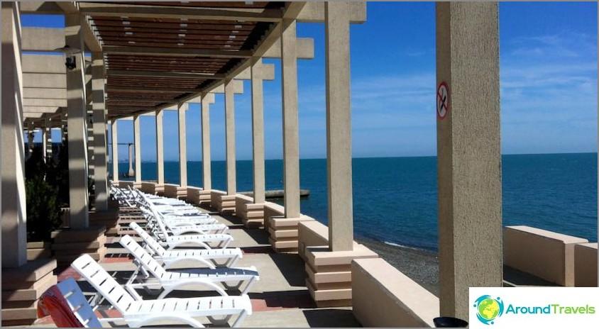 Hotellit Sotšissa on oma uimaranta - all inclusive ja ilman