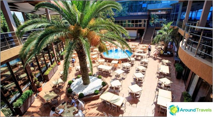 Хотели в Адлер край морето - списък на евтини и най-добре оценени