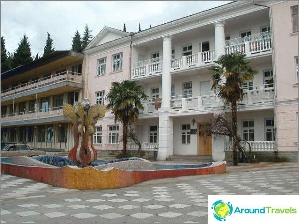 Lazarevsky-hotellit, joissa on oma ranta - listani