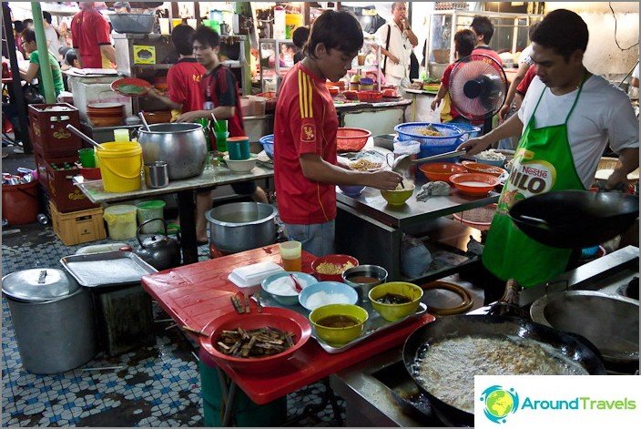 Kahvila Chinatownissa
