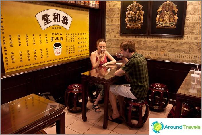Teejuhlat Chinatownissa
