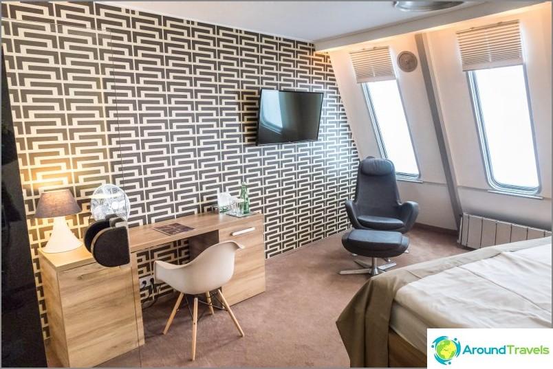 Ysted Liberecissä - TV-torni ja hotelli