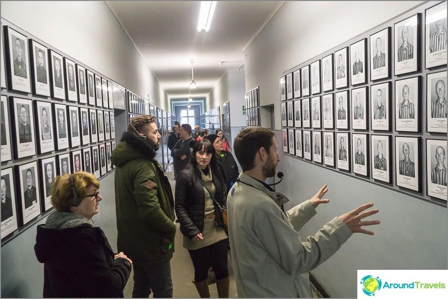 Auschwitzin kiertue (Auschwitz 1)