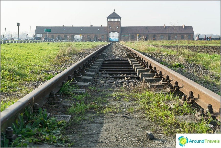 Auschwitz-Birkenaun keskitysleiri - kuoleman portit