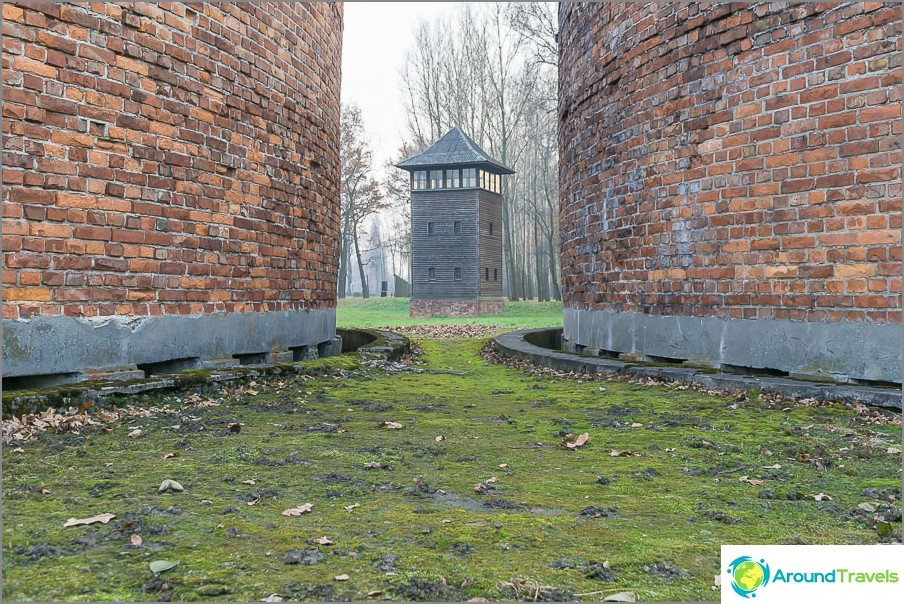 Jätevedenpuhdistamo Birkenaussa