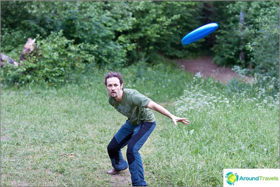 Frisbee viikonloppuisin