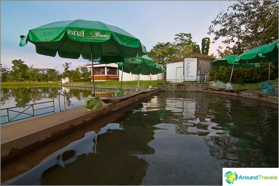 Vapaa jalkavesi, korkea lämpötila