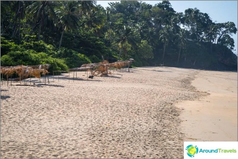 Nuin ranta - kunnollinen villi ranta Lannassa