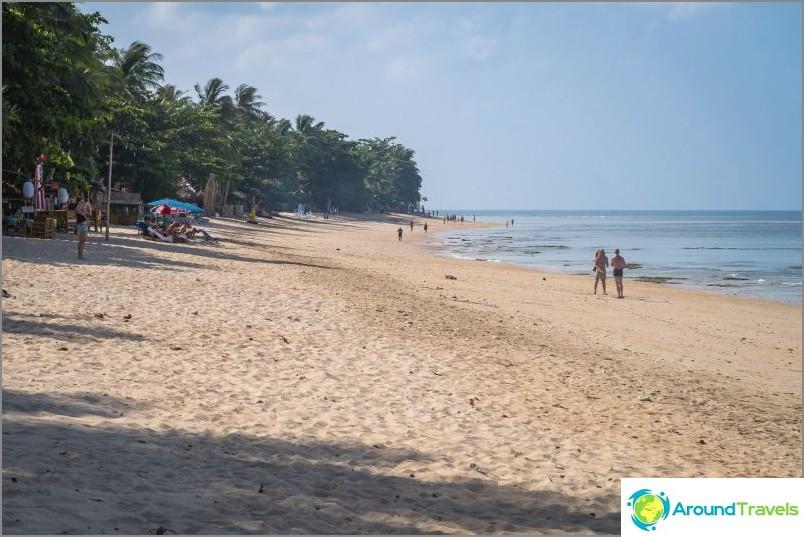 Klong Khongin ranta - kuten upea Balilla Lantassa