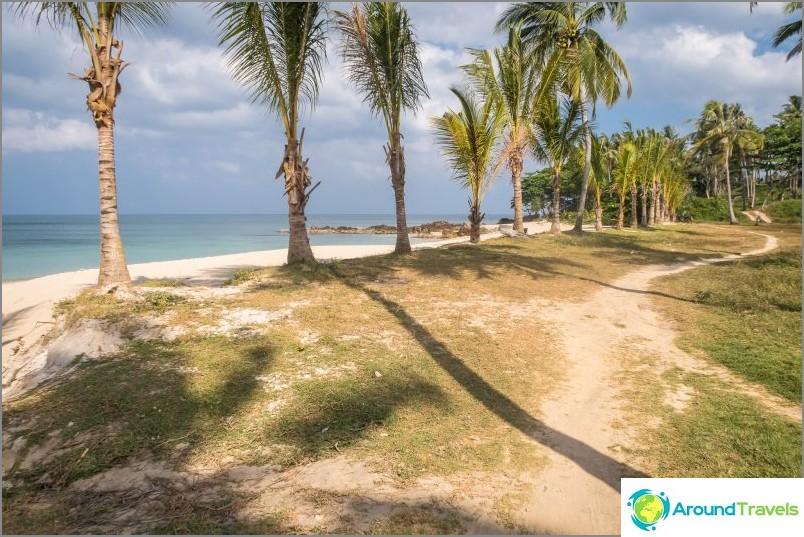 Salainen ranta (Lanta Secret Beach) - edelleen villi ranta Lantassa